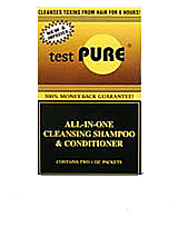 Test Pure All-In-One Cleansing Shampoo & Conditioner